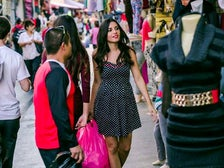 Shopping at Santee Alley in the L.A. Fashion District