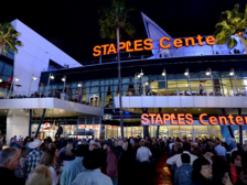 STAPLES Center entrance