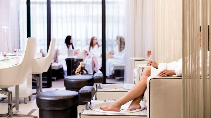 Nair Bar at the Spa at Beverly Wilshire
