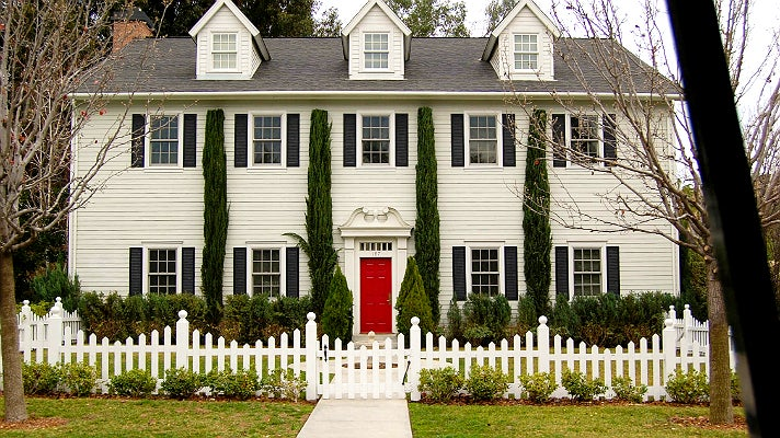 "Hanna Marin's house in ""Pretty Little Liars"" at Warner Bros. Studios"