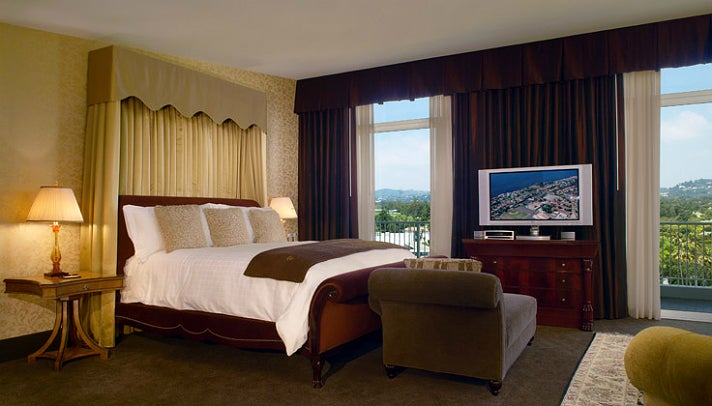 Presidential Suite at The Beverly Hilton