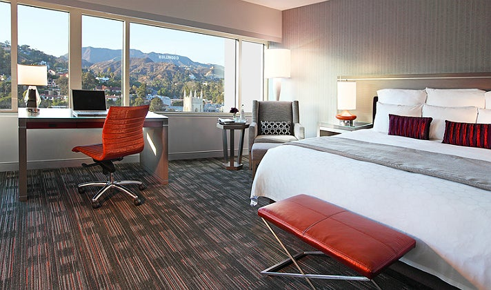 Junior Suite at Loews Hollywood Hotel