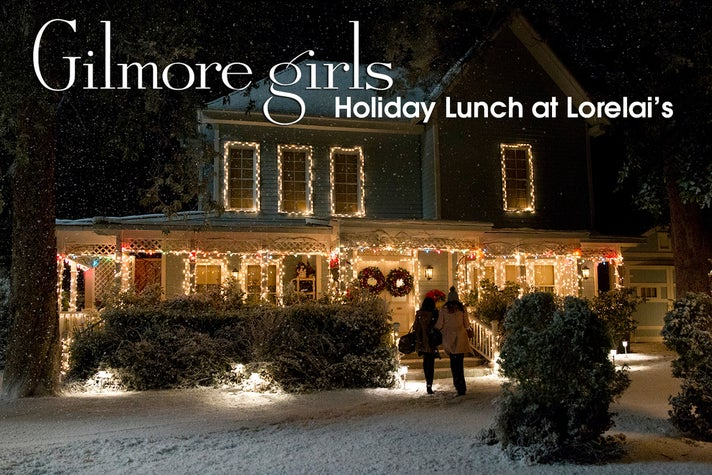 Holiday Lunch at Lorelai's at Warner Bros. Studio Tour Hollywood