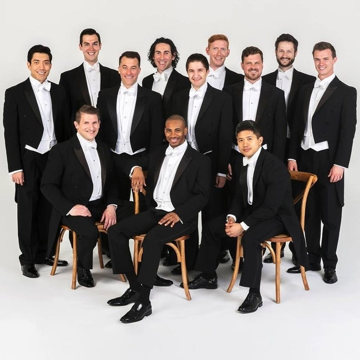 A Chanticleer Christmas at Walt Disney Concert Hall