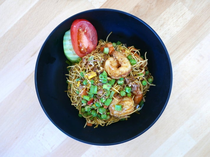 Mie Goreng at Rinjani