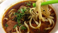 Beef noodle soup at Peking Tavern