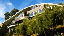 """Garcia House by John Lautner as seen in """"Lethal Weapon 2"""""""