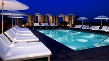 Pool at Above SIXTY Beverly Hills