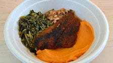 Cajun blackened fish at Everytable