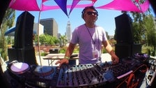 DJ in the mix at Sunday Sessions