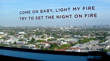 Doors song lyrics at the Andaz West Hollywood