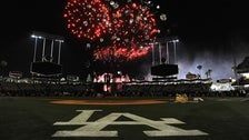 Friday Night Fireworks at Dodger Stadium