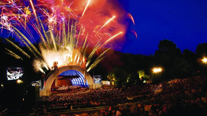 Fireworks Spectacular at the Hollywood Bowl