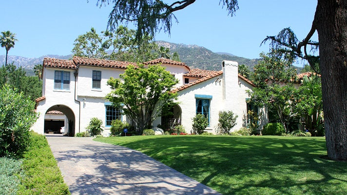"""The Walsh house from """"Beverly Hills, 90210"""""""
