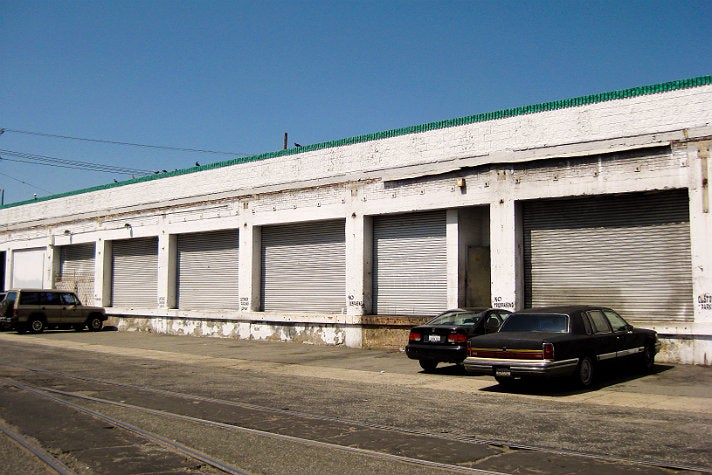 "The warehouse from ""Beat It"""