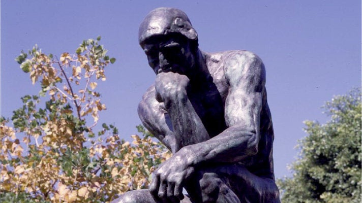 The Thinker at Norton Simon Museum