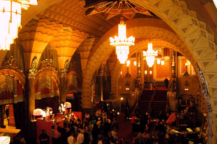Lobby at Pantages Theatre