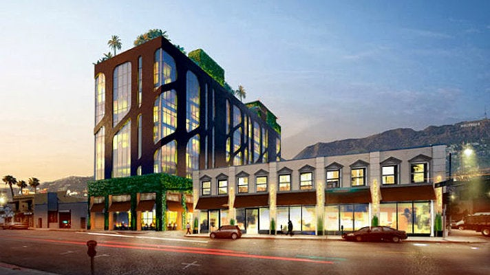 Rendering of Dream Hollywood hotel