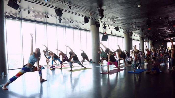 Yoga at W Hollywood
