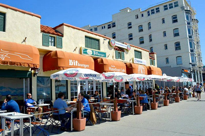 On the Waterfront Cafe at Venice Boardwalk