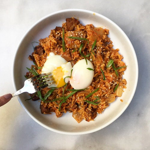 Kimchi fried rice at Republique