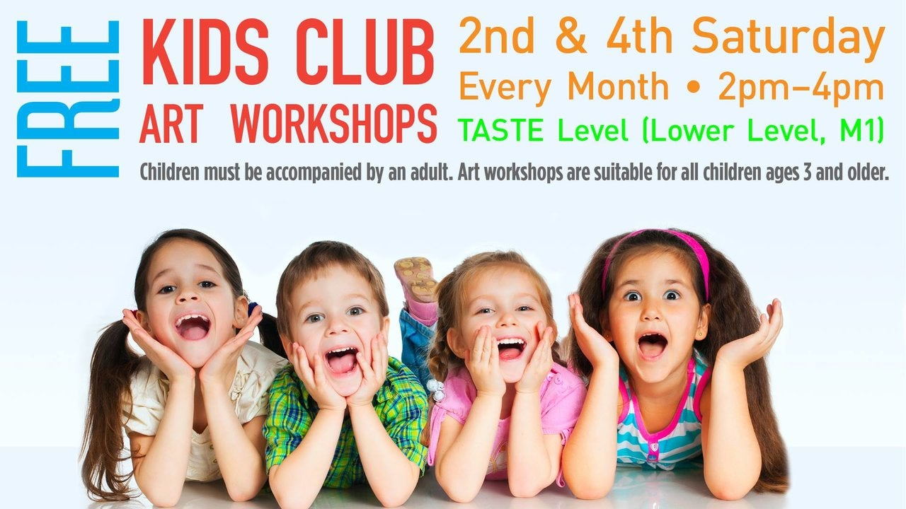 Kids Club Arts & Crafts Workshop at FIGat7th