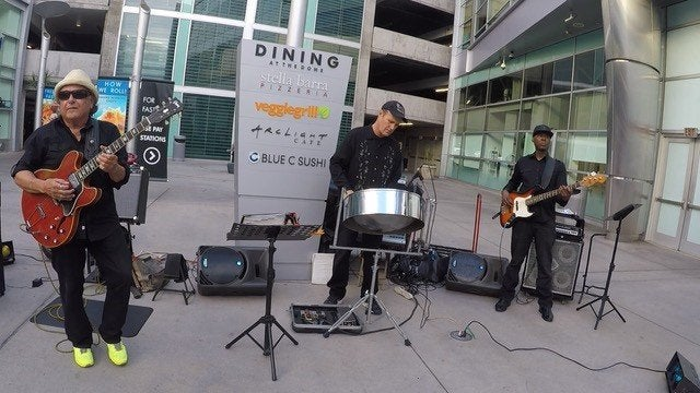 2nd Street Steel Drum Band at the Dome Arclight Entertainment Center