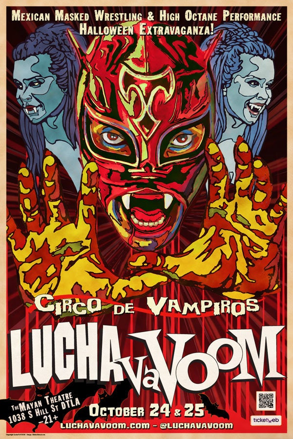 Lucha VaVOOM: Circo de Vampiros at The Mayan