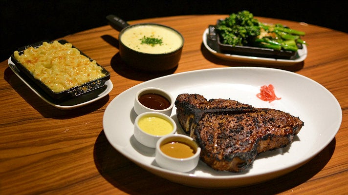 Grilled Porterhouse at STK Los Angeles